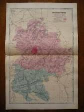 Antique Original 1800-1899 Date Range Antique Europe County Maps