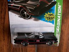 2012 Hot Wheels 1966 TV Series Batmobile Toy Car Adam West George Barris 1/64