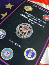 JOINT PUBLICATION 1-02 DoD Dictionary of Military & Associated Terms JCS