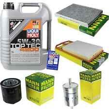 Inspection Kit Filter Liqui Moly Oil 5L 5W-30 for VW Golf IV 1J1 1.4 16V 1J5