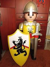 PLAYMOBIL LION KNIGHT STANDING GIANT LARGE FIGURE XXL GEOBRA STORE DISPLAY