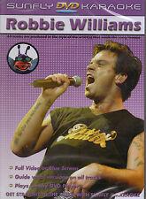 ROBBIE WILLIAMS 1 SUNFLY KARAOKE MULTIPLEX DVD 12 HIT SONGS