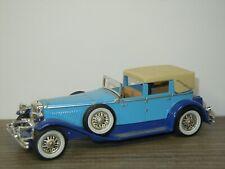 1930 Model J Duesenberg Town Car - Matchbox Yesteryear Y-4 England *42757