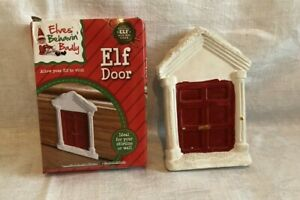 🎅 ELVES BEHAVIN' BADLY *NEW Christmas Elf Door Sticky Pad To The Skirting Board
