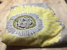 Shower Curtain M. Style Polyester / Cotton Yellow Tan Boho Bohemian Floral