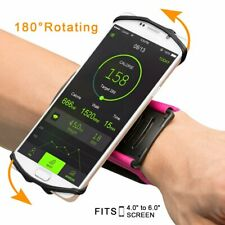 "180°Sport Running Jogging Wrist Band Bag Case Holder For CELL Phone fit 4"" to 6"""