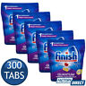 5 x FINISH QUANTUM POWERBALL DISHWASHING TABLETS LEMON DISHWASHER TABS 60 PACK