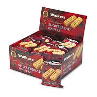 Walkers Shortbread Cookies 2/Pack 24 Packs/Box W116