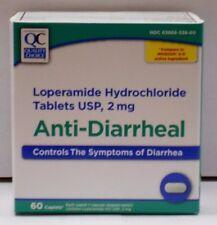 Quality Choice Loperamide HCL Caplets Anti- Diarrheal, 2mg 60ct
