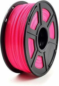 3D Drucker Filament Printer 1KG Rolle 1,75mm ABS - Luminous red -  Neon Pink