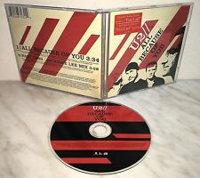 CD U2 - ALL BECAUSE OF YOU - SINGLE