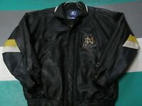 Vintage Notre Dame Fighting Irish Starter Leather Insulated Jacket Adult XL