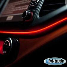 2m EL Neon Wire 12V Ambiente Effekt Kabel Licht Leucht Schnur Draht ORANGE