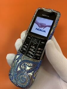 Nokia 8800 Classic Silver Swarovski Meandr . Original Nokia phone.