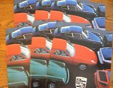 1978 Porsche Dealer Sales Brochure LOT (6) pcs, 911 SC Turbo 924 928 MINT