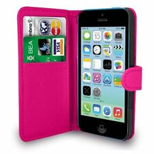 For APPLE IPHONE 5S Premium Leather Magnetic Flip Wallet Case Cover