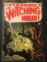 WITCHING HOUR. NO. 3. ITS MIDNIGHT. SILVER AGE. 1969. NICK CARDY-COVER. FN/VFN
