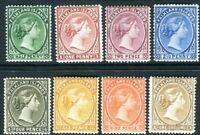 FALKLAND ISLANDS-1891-1902 A mounted mint set to 1/- Sg 17b-38