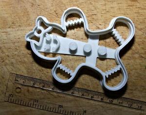 Gingerbread Girl Cookie / fondant Cutter 3d printed