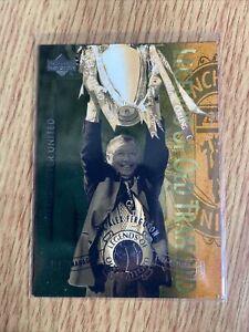 Sir Alex Ferguson Upper Deck 2001 Legends Of Old Trafford L14
