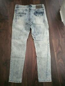 Police 883 Milano 32 Waist Jeans Long