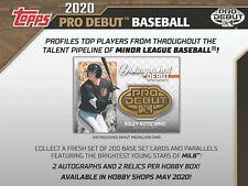 Bobby Witt Jr. - Kansas City Royals 2020 Pro Debut 1/2 Case Player Break