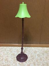 2003 Barbie Doll My Scene Cafe Playset Coffee Shop Green Floor Lamp Furniture