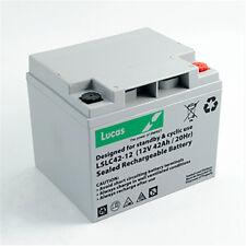 Lucas 12V 42AH (38AH 40AH 44AH) AGM/GEL Leisure & Mobility Application Battery