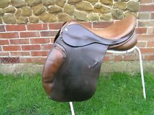 """18"""" Barnsby Event Saddle Medium fit in Two-Tone Havanna, Flair Panels."""