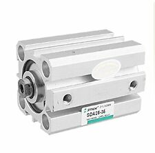 Pneumatic SDA 25x35 25mm Bore 35mm Stroke Double Action Thin Air Cylinder