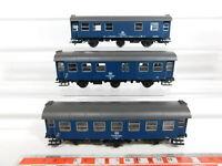 CJ207-0,5# 3x Roco H0/AC Aufenthaltswagen etc DB: 99-23 092+99-24833+99-29 652