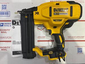 DEWALT 20V MAX 18 Gauge Cordless Brad Nailer (Tool Only) DCN680B Used 10/10