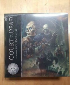 Court of the Dead: Mourners Call Limited Edition Kickstarter Bone Cover