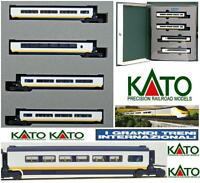 KATO 10-296 SET 4 ADDITIONAL-CARS CARROZZE for EUROSTAR  10-327 SNCF BOX SCALA-N