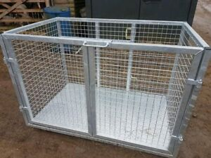Agri-Fabs Livestock Linkage Box, galvanised or painted,Tractor, Transport Box