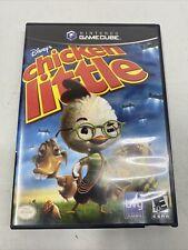 Disney's Chicken Little Nintendo GameCube 2005 Complete Video Game Cib Tested