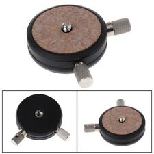 """QR-02 Quick Release Plates 1/4"""" 3/8"""" Screw Adapter For Tripod Cameras Ball Head"""
