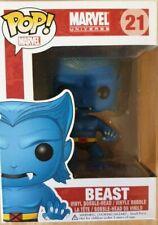 Funko Pop Marvel Universe : Beast #21 Vinyl Figure Mint Vaulted