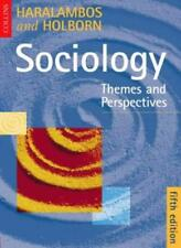 Sociology: Themes and Perspectives 5th Ed,Michael Haralambos, Martin Holborn