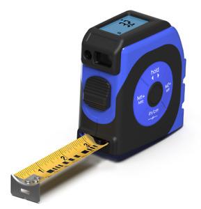 KOISS 2-in-1 laser digital tape measure screen backlight