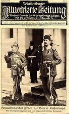 Generalfeldmarschall Freiherr v.d.Goltz-Pascha in Konstantinopel von 1915