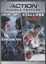 SYLVESTER STALLONE DEMOLITION MAN/OVER THE TOP Sandra Bullock NEW Action DVD