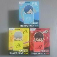 Persona Hikkake Figure 3 type set P3 P4 P5 Protagonist From Japan