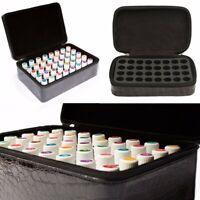 32 bottiglie di oli essenziali portatile borsa custodia deposo aromaterapia