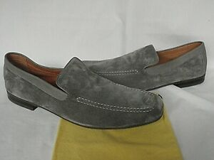 NEW in box John Lobb Mid Green Suede Loafer Shoes UK 9.5 UK 10 RRP £695