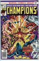 Champions 1975 series # 8 very fine comic book
