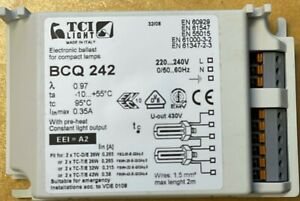 Electronic Ballast for Compact Lamps variable 2 x TC-T/E  26w/32w/42w