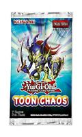 Yu-Gi-Oh! TCG Toon Chaos boosters pack (including' brand new monsters) X 5 BOOST