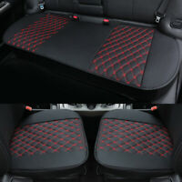 Breathable Car Seat Cover Cushion Pad Mat Side Protector w/ PU Leather Universal