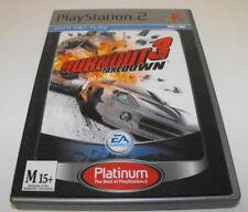 Burnout 3 Takedown PS2 (Platinum) PAL *Complete*